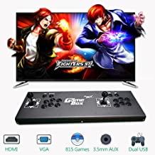 PinPle Arcade Game Console Pandora's Box 4S 815 in 1 Video Games Kit Classic Arcade Game Machine with HDMI & VGA Output for King of Fighters (KOF)