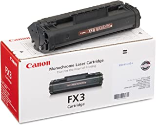 Canon FX3 Laser Toner Cartridge, Black - in Retail Packaging