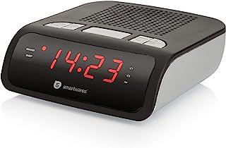 comprar comparacion Smartwares CL-1459 – Reloj despertador con dos alarmas, radio FM