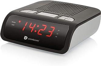 Smartwares CL-1459 – Reloj despertador con dos alarmas,