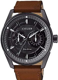 سيتيزن ساعة رسمية للرجال - انالوج بعقارب سوار جلد , BU4028-18E