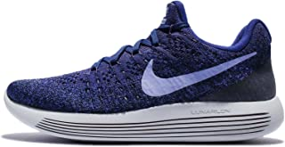 Nike Women's WMNS Lunarepic Low Flyknit 2, Black/White-Anthracite