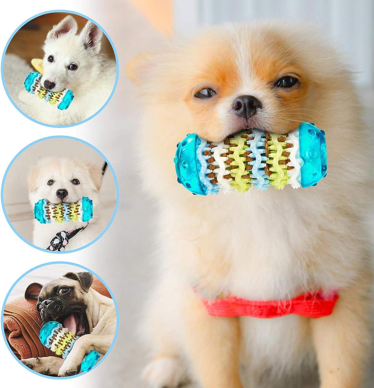 S FurPaw Masticar Perros Juguetes Durable Resistentes Caucho Juguetes Multifuncional para Mascotas Peque/ña Juguete Dientes Limpios Cachorro Juegos Interactivos