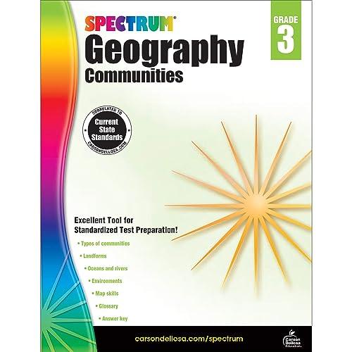 Spectrum | Geography: Communities Workbook | 3rd Grade, 128pgs