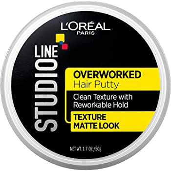 L'Oreal Paris Studio Line Overworked Hair Putty, 1.7 oz.