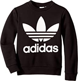 0aeb8a712006 Black White. 122. adidas Originals Kids. Trefoil Crew Sweatshirt (Little  Kids Big Kids).  40.99MSRP   45.00