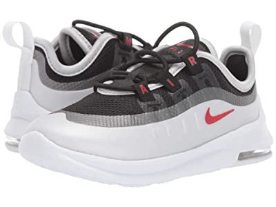 Nike Kids Air Max Axis (Infant/Toddler) (Black/Sport Red/Metallic Platinum/White) Boys Shoes