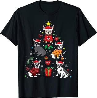 French Bulldog Christmas Ornament Tree Decor Funny Dog Gift T-Shirt