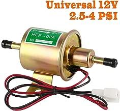 Electric Fuel Pump 12v Universal - Low Pressure Inline External Gas Diesel Gasoline Liquid Transfer for Carburetor Lawn-Mower Boat Cart Truck Tank