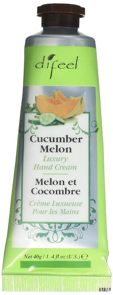 事実噛む示すDifeel(ディフィール) メロン ナチュラル ハンドクリーム 40g CUCUMBER MELON 05CUC New York 【正規輸入品】