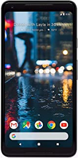 Google Pixel 2 XL 128 GB, Black (Renewed)