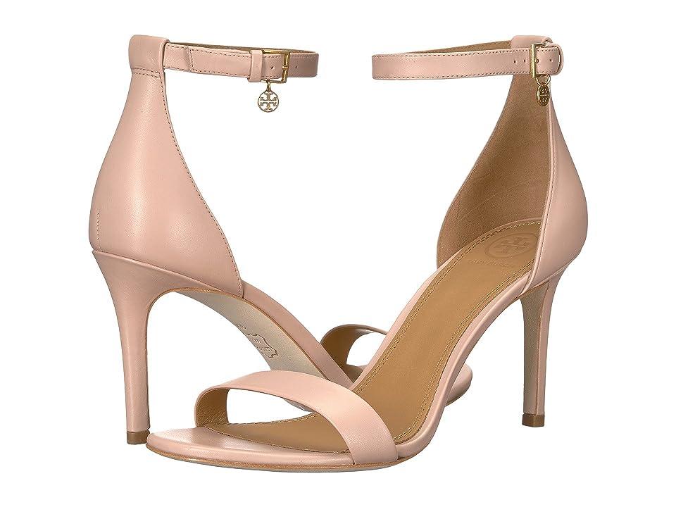470e042a35a0b7 Tory Burch Ellie 85mm Ankle-Strap Sandal (Sea Shell Pink) Women s Sandals