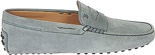 Tod's Luxury Fashion Mens XXM0E000010RE0B211 Light Blue Loafers   Spring Summer 20