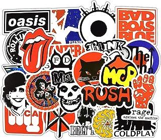 Cartoon Sticker Rock Music Sticker for Skateboard Laptop Car Phone Luggage Bike Stylin Set of 50