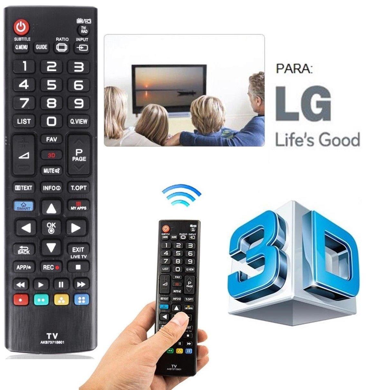 Mando a distancia LG para LCD LED-4K SMART TV NO REQUIERE ...