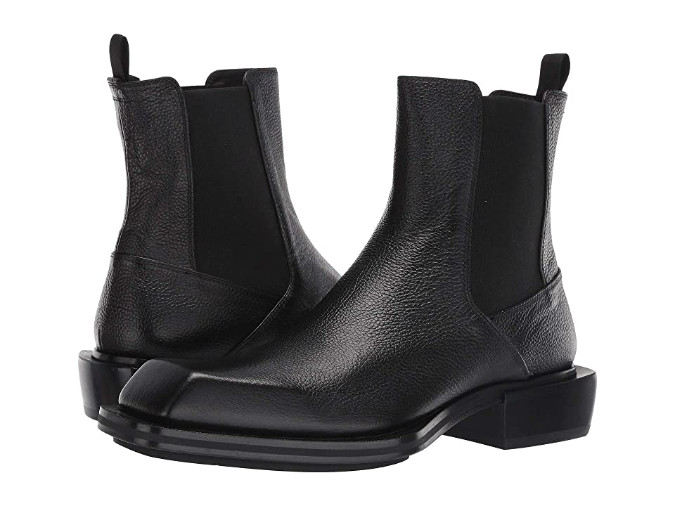 Alexander McQueen Pull-On Boot (Black/Black) Men