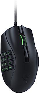 Razer Naga X MMO ゲーミングマウス 16ボタン 軽量 85g 18000 DPI 5G 高性能オプティカルセンサー 柔らかい布巻ケーブル Chromaライティング【日本正規代理店保証品】 RZ01-03590100-R3M1
