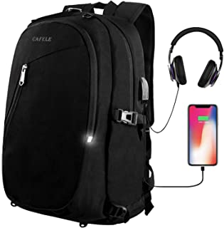 Laptop Backpack,Travel Computer Bag for Women Men,Anti Theft Water Resistant College School Bookbag,Slim Business Backpack...