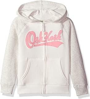 Girls' Toddler Full Zip Logo Hoodie, Pink, 4T