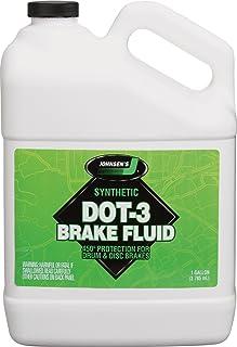 Johnsen's 2234 Premium DOT-3 Brake Fluid - 1 Gallon