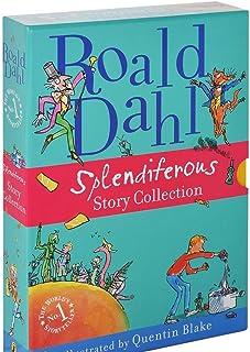Roald Dahl Splendiferous Story Collection Boxed Set: 4 Books Full-Color Illustrations, James and the Giant Peach, Fantasti...