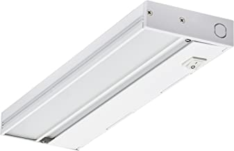 NICOR Lighting 12-Inch Slim Dimmable 2700K LED Under Cabinet Light Fixture, White (NUC-4-12-DM-W-WH)