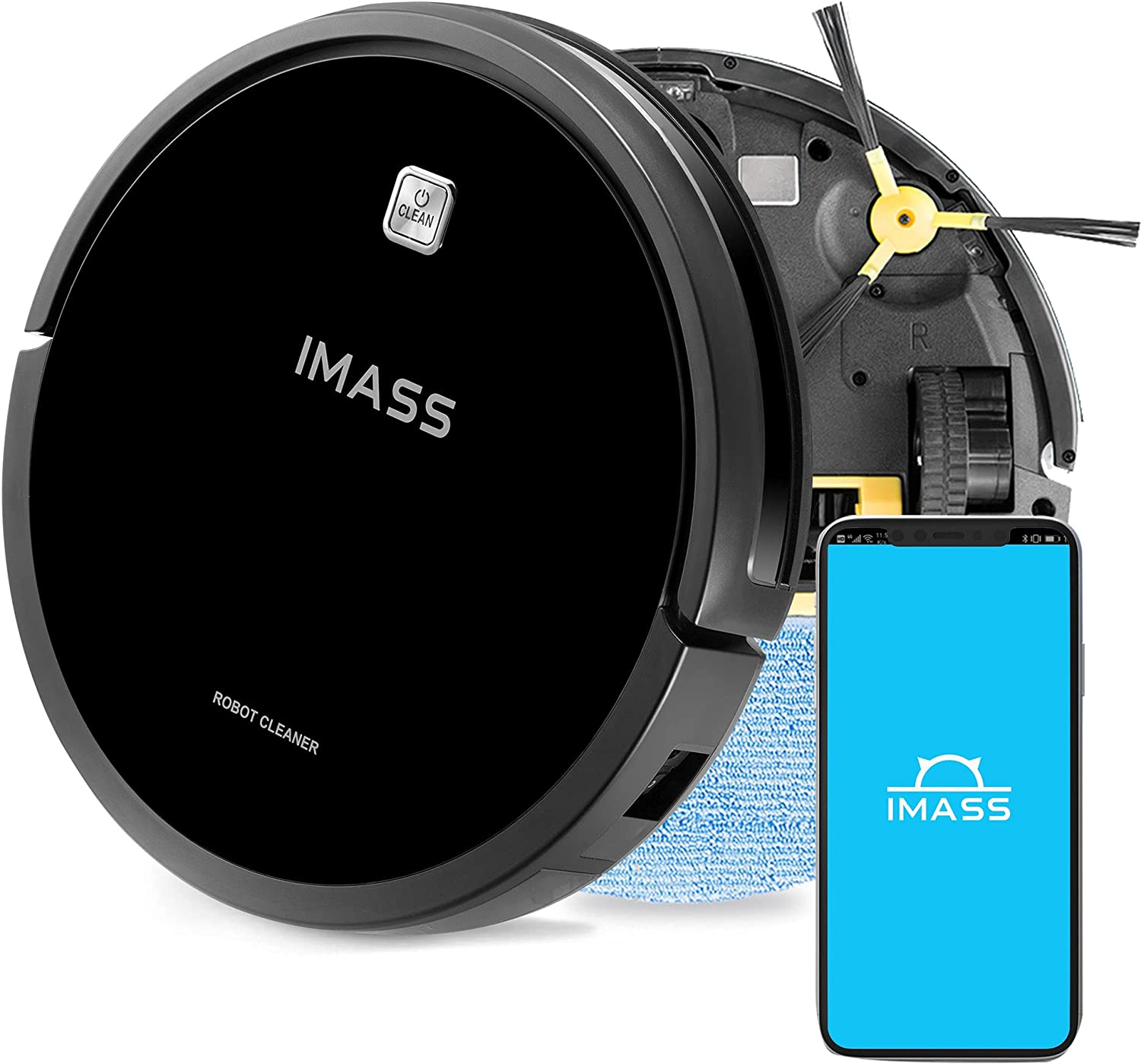 Robot Vacuum and mop Combo Max 86% OFF Camera Wi-Fi Connecti Cleaner Robotic Max 80% OFF