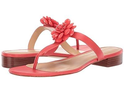 MICHAEL Michael Kors Dalia Flat Sandal (Sea Coral) Women