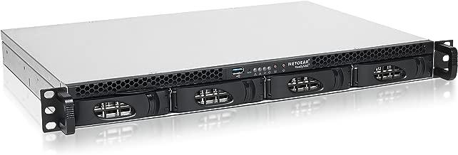 NETGEAR ReadyNAS 2304, Rackmount 1U 4-bay, Dual Gigabit Ethernet, Diskless (RR230400)