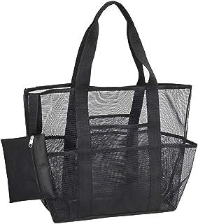 NuTip Mesh Beach Bag,Toy Tote Bag,Large Lightweight Market