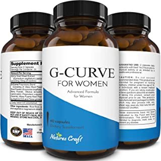 Optinatural G-Curve dietary female supplement, 60 Caps