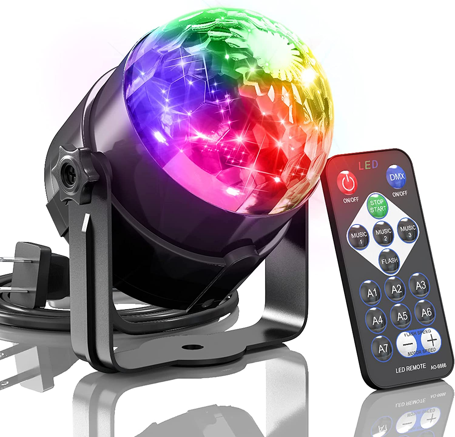 Disco Ball Light supreme depot caivimvn Party Activated Ligh Sound