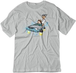 T-Shirts Lloyd 3dRose BrooklynMeme Monograms White Marble Monogram L