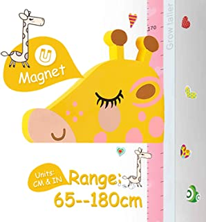 Height Chart for Kids, AOBETAK Magnetic 3D Stereo Animal Kid Growth Wall Height Measure Ruler Stickers for Boys Girls Chil...