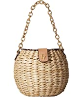Frances Valentine - Honey Pot Woven Bucket Bag