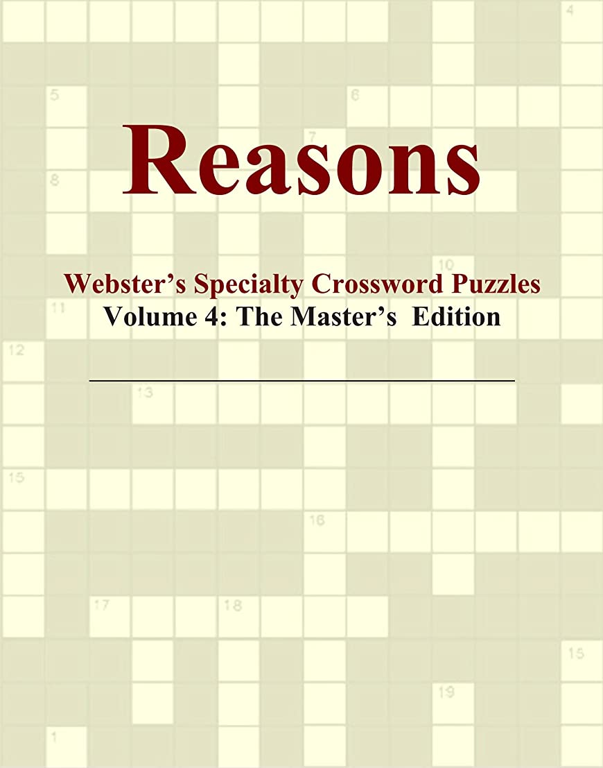 長老七時半英語の授業がありますReasons - Webster's Specialty Crossword Puzzles, Volume 4: The Master's Edition
