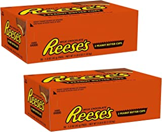 Peanut Butter Cups Candy, Chocolate 1.5 oz Packages (Pack of 72)