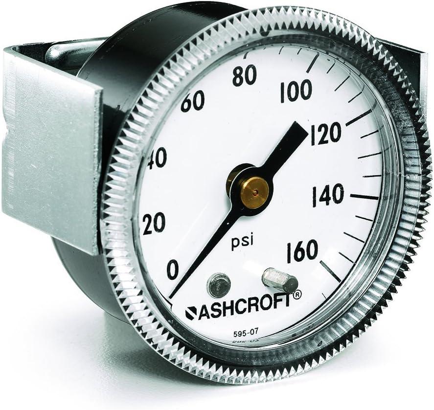 Ashcroft Pressure Phoenix Mall Gauge 25 1001T 02B XUC Dial supreme 4 Size 600# 2.5