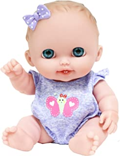 JC Toys Lil Cutesies All Vinyl Washable Doll Baby Doll,...