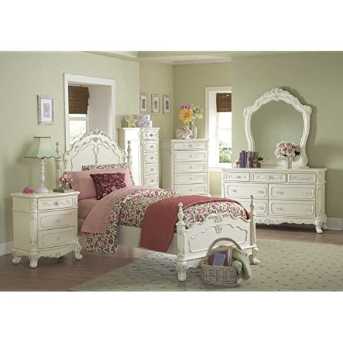 Victorian bed furniture Golden Colour Cinderella Pc Full Bedroom Set By Home Elegance In Offwhitecream Amazoncom Victorian Bedroom Furniture Amazoncom