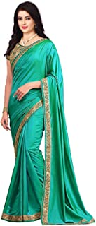 Om Sai Latest Creation Women's Soft - Silk Saree With Blouse Piece Material