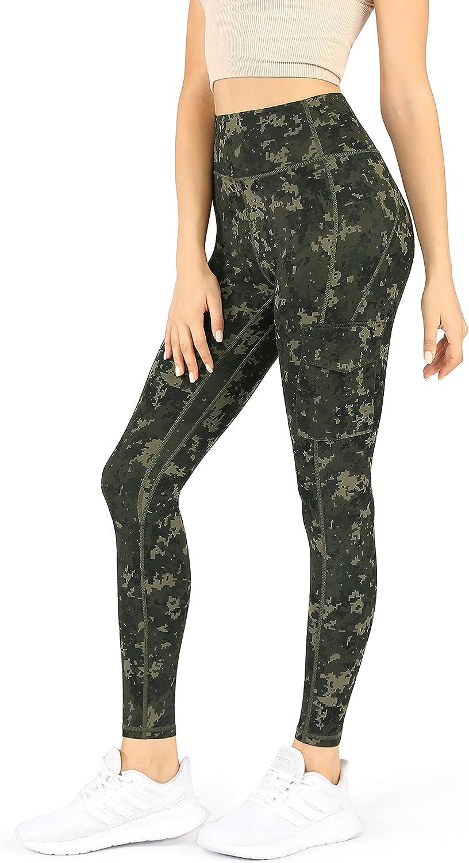 ODODOS Women's High Rise 5 ☆ very popular Cargo Capris shopping Pockets Work Yoga Leggings