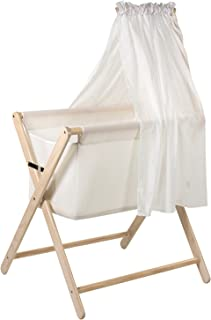 Mothers Choice Coco Baby Bassinette, White Wash