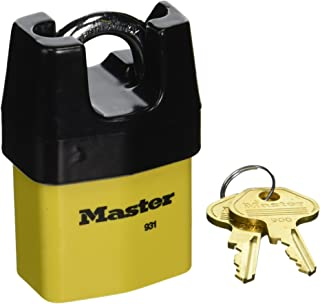 Master Lock 931DPF 2-1/8-Inch Wide Covered Laminated Steel Pin Tumbler Padlock