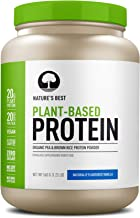 Nature's Best Plant Based Organic Pea & Brown Rice Protein Powder, 20 serves, Naturally Flavored Vanilla, 560 grams