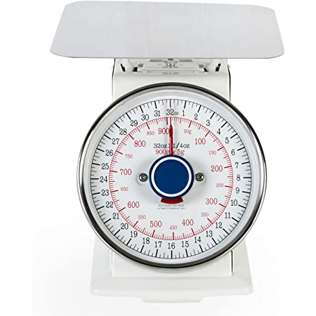 2lbs Heavy Duty Mechanical Scale with Stainless Steel Platform