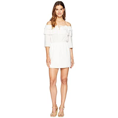 Jack by BB Dakota Bowser Off the Shoulder Dress (White) Women