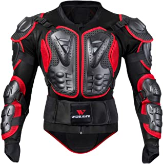 Flameer Motorcycle Racing Jacket Body Protector Motocross Armour Protection Gear