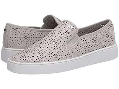 MICHAEL Michael Kors Kane Slip-On (Aluminum) Women