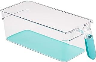 Amazon Basics Bacs avec poignée pour réfrigérateur Petit Lot de 2